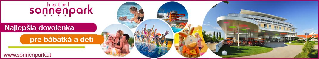 Hotel Sonnenpark - Najlepšia dovolenka pre bábätká a deti